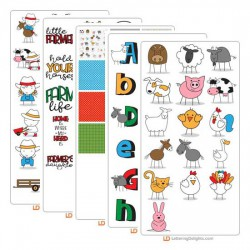 Stickies - Farm - Graphic Bundle