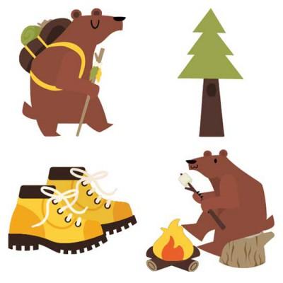 Honey Bear - Goes Hiking - CS