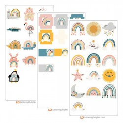 Chasing Rainbows - Cut Bundle
