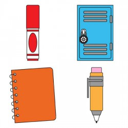 Stickies School - Supplies - GS