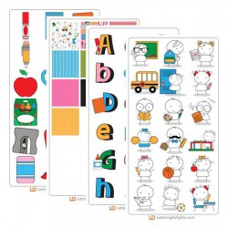 Stickies School - Graphic Bundle