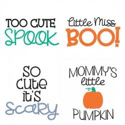 Pipsqueaks Halloween - Phrases - GS