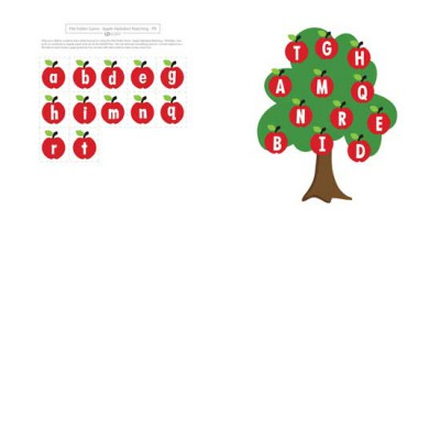 Apple Alphabet Matching - PR