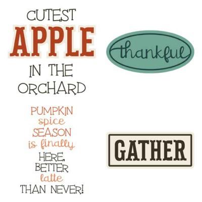 Fall Favorites - Sayings - GS