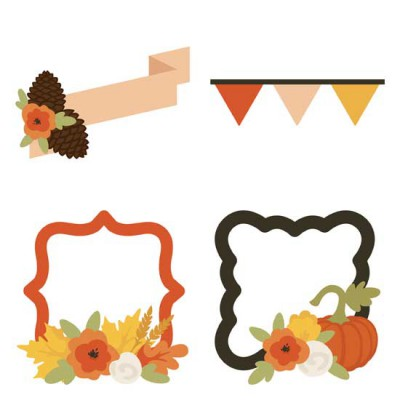Fall Favorites - Banners and Frames - GS