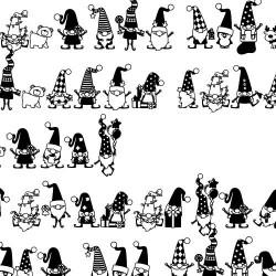 DB Christmas Gnomes - DB
