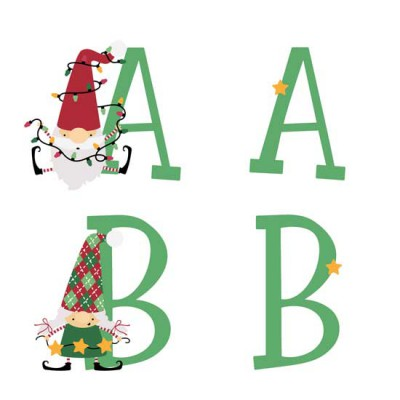 Christmas Gnomes - AL