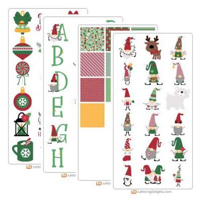 Christmas Gnomes - Graphics Bundle