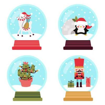Merry Snowglobes - GS