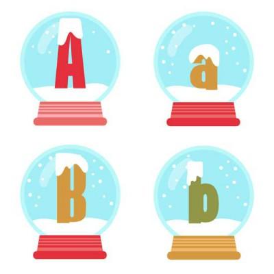 Merry Snowglobes - AL