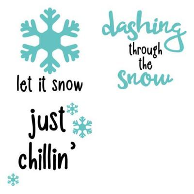 Merry Snowglobes - PR