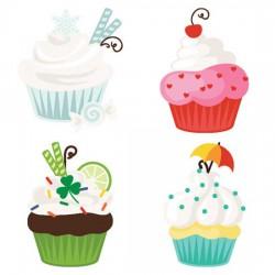 Calendar - Cupcakes - CS