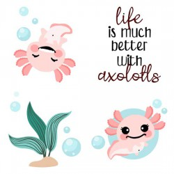 Happy Axolotl - GS