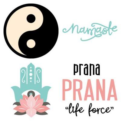 Just Yoga - Namaste - CS