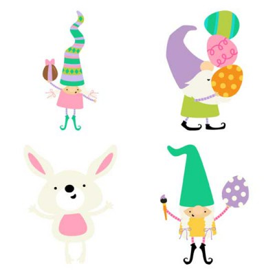 Spring Gnomes - Easter - GS