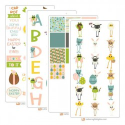 Easter Long Legs - Graphics Bundle