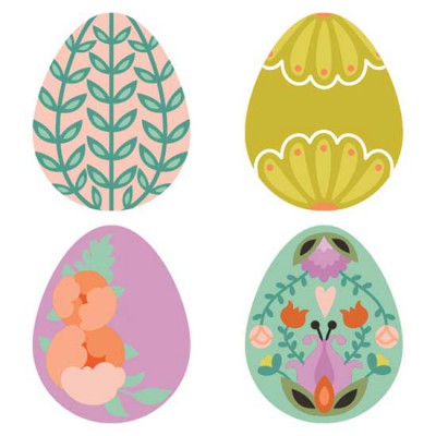 Spring Rhapsody - Eggs - CS