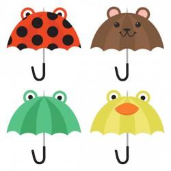 Singing In The Rain - Umbrellas - GS
