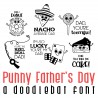 DB Punny Father's Day - DB -  - Sample 1