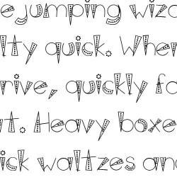 LD Deco Dots - Font