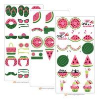 Watermelon Splash - Cut Bundle