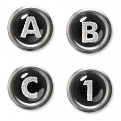 Typewriter Keys - AL