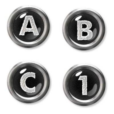 Typewriter Keys - AL