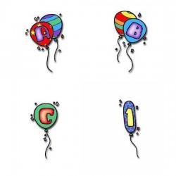Birthday Balloons - AL