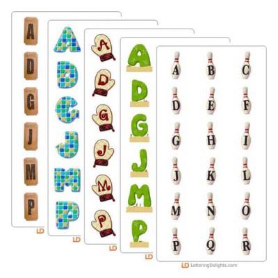 LD June 2004 Alphabet Bundle