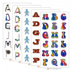 LD July 2004 Alphabet Bundle