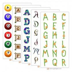 LD August 2004 Alphabet Bundle