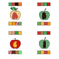 Patchwork Apples - AL