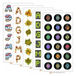 LD October 2004 Alphabet Bundle