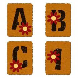 Stencil Flower - AL
