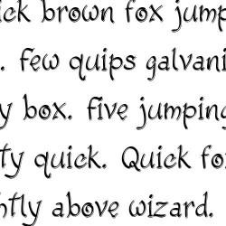 LD Fancy - Font