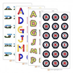 April 2005 Alphabet Bundle