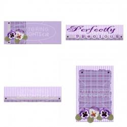 JD Purple Pansies - GS