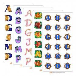 September 2005 Alphabet Bundle