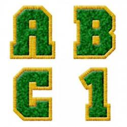 Varsity Green & Gold - AL
