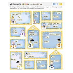 SN Snow Blokes Gift Tags - PR