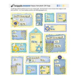 SN Happy Hanukkah Gift Tags - PR
