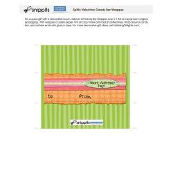 Spiffy Valentine - Candy Bar Wrapper - PR