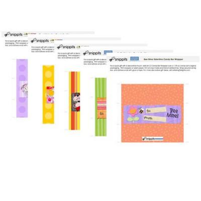 Valentine - Candy Bar Wrapper Bundle