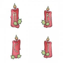 Christmas Candles - AL