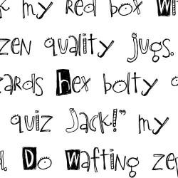 LDJ Oogly Googly - Font