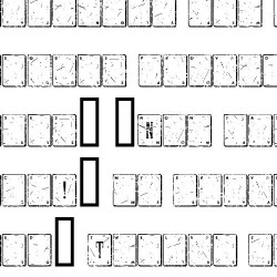 TXT Worn Deck - Font