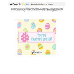 Eggstra Special - Candy Bar Wrapper - PR