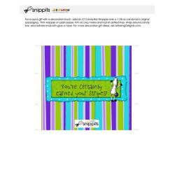 Earned Stripes - Candy Bar Wrapper - PR