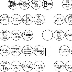 DB Circles - Birthday - DB