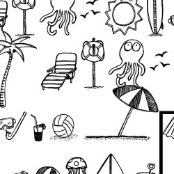 DB Beach Doodles - DB